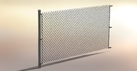 Adjustable Height Chain Link Fence